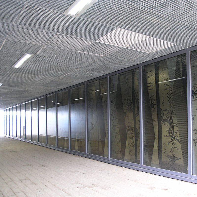 Quattro 33 Rochester Station Steel Ceiling Panels Langfulton