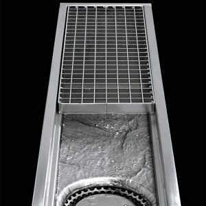 stainless steel box drain channel