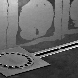 stainless steel box drain