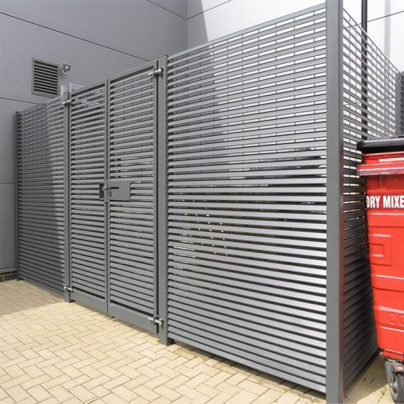 L+F-Italia-80-louvred-fencing-&-bin-stores-Ashford-Park-8