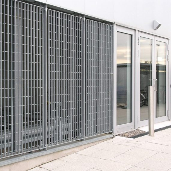 Stereo-4-steel-grating-panel-wall-cladding-car-park-BBC-3