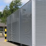 wheelie bin store providing security and visual screening