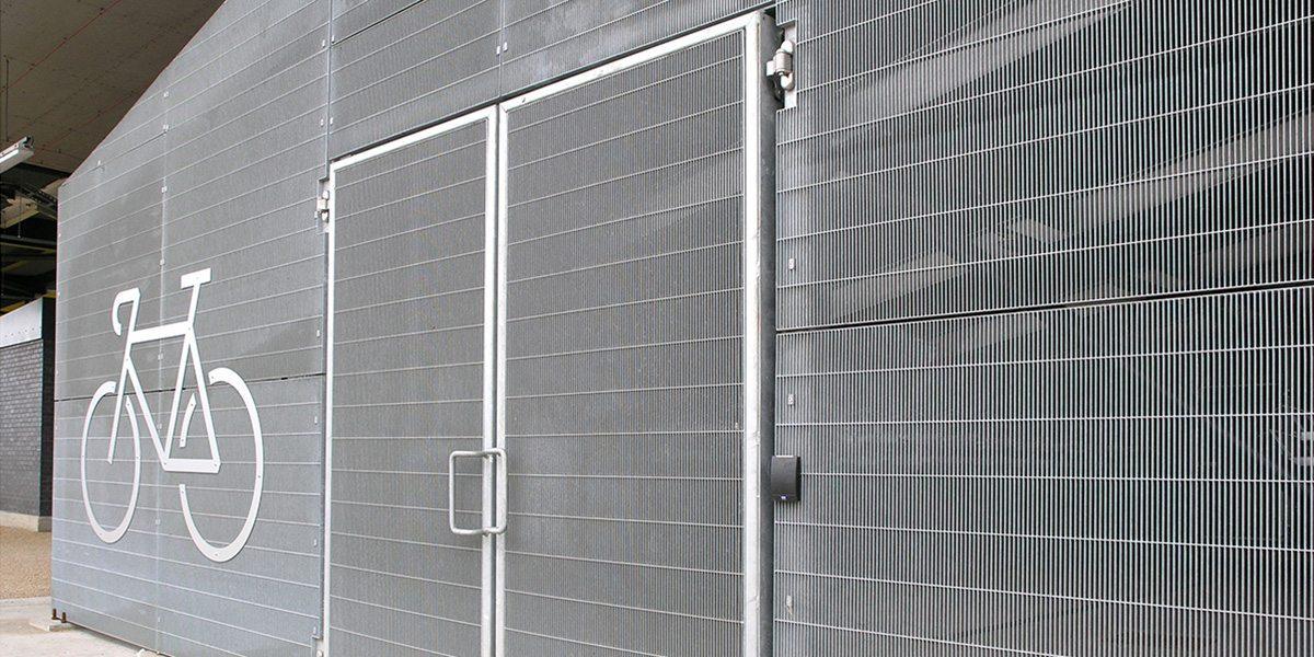 secure multi bike store