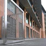 stainless steel bi-folding gate